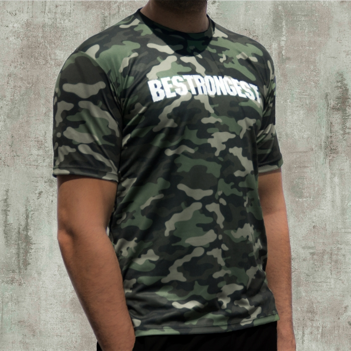 CAMISETA ELITE ARMY GREEN ACTIVEDRY®