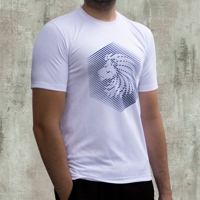 CAMISETA LION STRIPES ACTIVEDRY®
