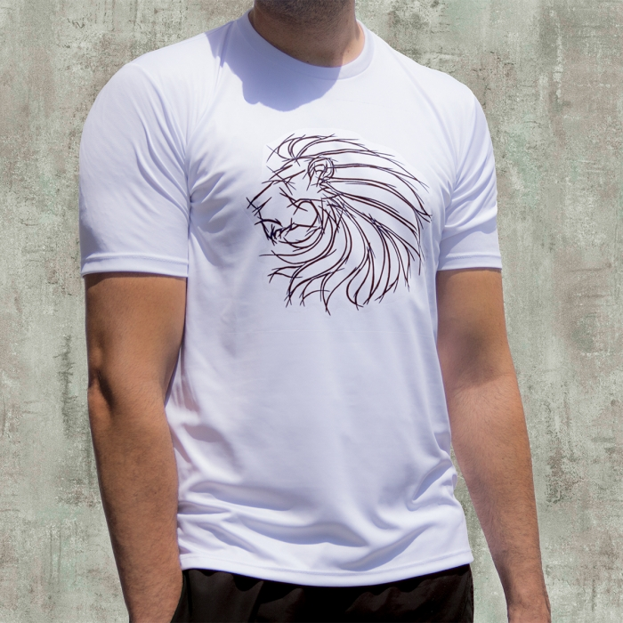 CAMISETA LION SKETCH ACTIVEDRY®