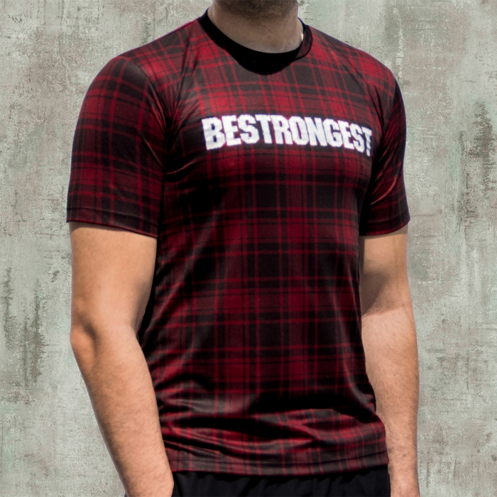 CAMISETA VERMILION CHECK ACTIVEDRY® DS INTENSE
