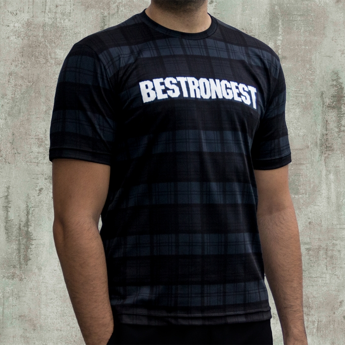 CAMISETA DARK PLAID ACTIVEDRY®
